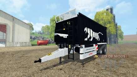 Fliegl ASW 268 black pantera edition v1.1 para Farming Simulator 2015