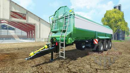 Krampe Bandit 980 green v2.0 para Farming Simulator 2015