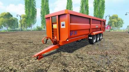 Richard Weston SF20 para Farming Simulator 2015