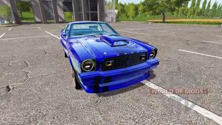 Ford Mustang II King Cobra 1978 para Farming Simulator 2017