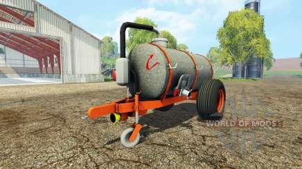 Kaweco 6000l para Farming Simulator 2015
