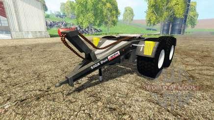 Kroger SIGA Duo para Farming Simulator 2015