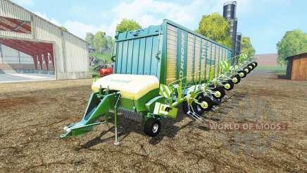 Krone ZX 550 GD rake para Farming Simulator 2015