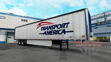 Los logotipos de la empresa para remolques para American Truck Simulator