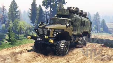 Ural 4320-10 Phantom v1.1 para Spin Tires