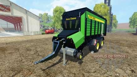 Forage trailer John Deere para Farming Simulator 2015