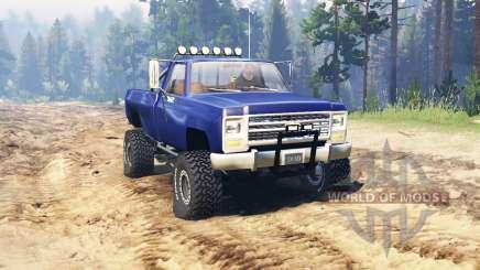 Chevrolet K20 para Spin Tires