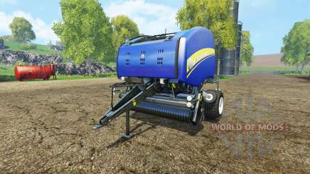 New Holland Roll-Belt 150 blue para Farming Simulator 2015