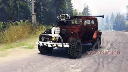 GAZ M1 v1.1 para Spin Tires