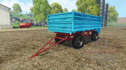Tractor trailer v2.0 para Farming Simulator 2015