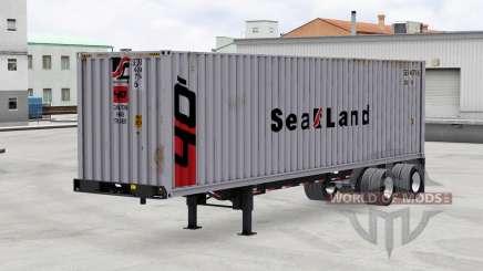 Una colección de trailers de v1.4 para American Truck Simulator