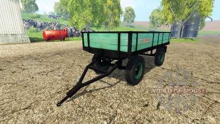 Tractor tipper trailer para Farming Simulator 2015