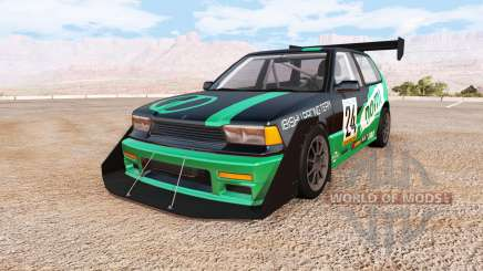 Ibishu Covet racing custom v0.6.6 para BeamNG Drive