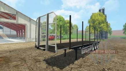 Fliegl universal semitrailer autoload v1.4.1 para Farming Simulator 2015