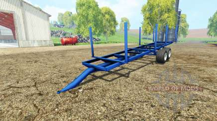 Log Trailer autoload para Farming Simulator 2015