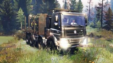 Tatra Phoenix T 158 8x8 v10.0 para Spin Tires