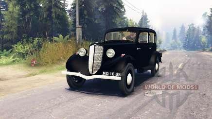 GAZ M1 para Spin Tires