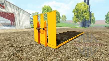 ITRunner plateau v1.1 para Farming Simulator 2015