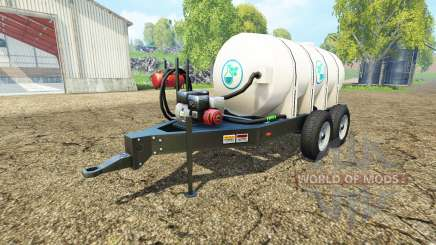 Lizard fertilizer trailer v1.1 para Farming Simulator 2015