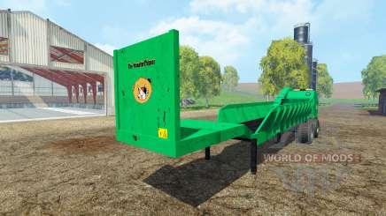 Separarately semi-remolque v1.6 para Farming Simulator 2015