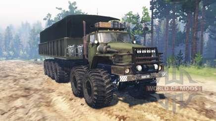 Ural Cloverfield para Spin Tires