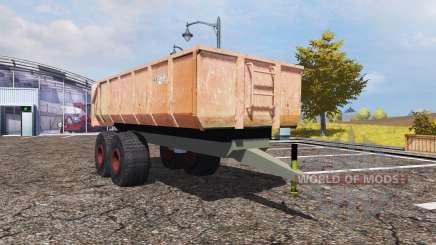 TEKO tipper trailer para Farming Simulator 2013