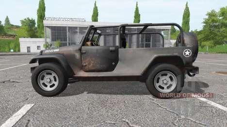 Jeep Wrangler para Farming Simulator 2017