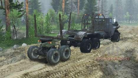 Ural 43260 v1.1 para Spin Tires