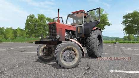 MTZ 82 Bielorruso para Farming Simulator 2017