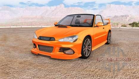 Hirochi Sunburst Sport RS para BeamNG Drive