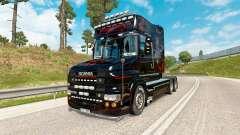 Depredador de la piel para camión Scania de la s