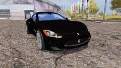 Maserati GranTurismo S para Farming Simulator 2013