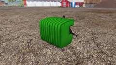 Switchable weight plates para Farming Simulator 2015