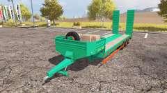 Aguas-Tenias lowboy 3-axis para Farming Simulator 2013