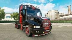 La piel de Ferrari en el camión Iveco Strator