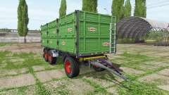 Rimorchi Randazzo R270 PT v1.0.1.3 para Farming Simulator 2017