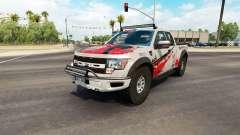 Ford F-150 SVT Raptor v2.2 para American Truck Simulator