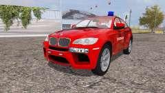 BMW X6 M (Е71) Departamento de bomberos