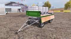 Trailer fertilizer