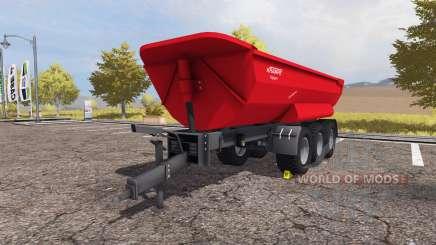 Krampe Halfpipe HP 30 multifruit para Farming Simulator 2013