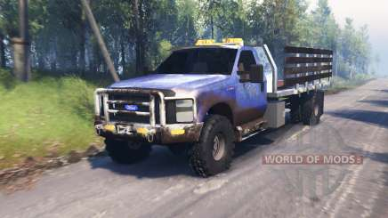 Ford F-450 Super Duty LWB v2.0 para Spin Tires