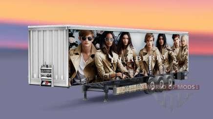 Pieles de marcas de lujo en el trailer para Euro Truck Simulator 2