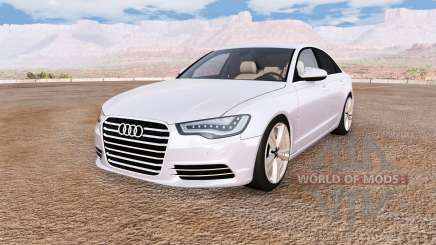 Audi A6 (C7) v1.1 para BeamNG Drive