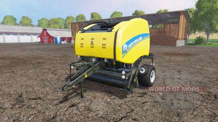 New Holland Roll-Belt 150 wet grass para Farming Simulator 2015
