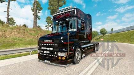 Depredador de la piel para camión Scania de la serie T de para Euro Truck Simulator 2