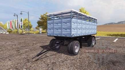 Livestock trailer v3.0 para Farming Simulator 2013