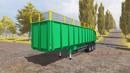 Silage semitrailer para Farming Simulator 2013