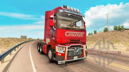 Renault T-Series v6.2 para American Truck Simulator