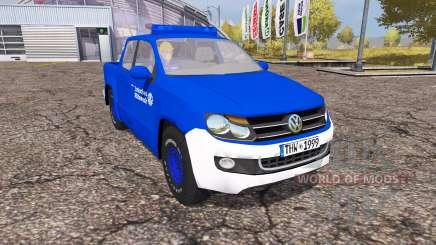 Volkswagen Amarok Double Cab THW para Farming Simulator 2013
