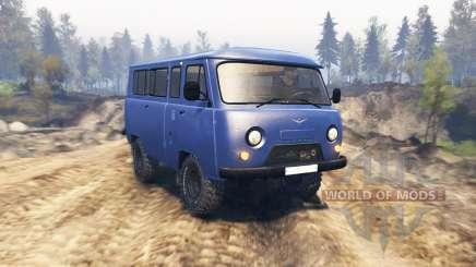 UAZ 2206 v2.1 para Spin Tires